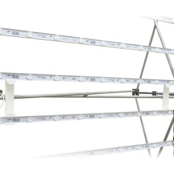 10ft Lumière Light Wall® Configuration B - BACKLIT (Graphic Package)
