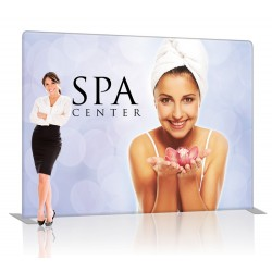 10 ft. EZ Tube Straight Trade Show Display – Graphic Package