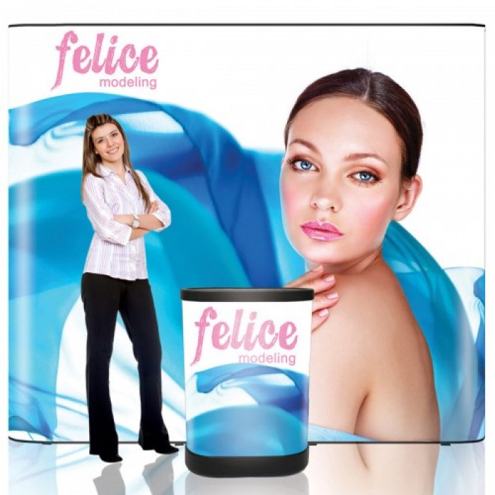 9 ft. Pop Up Trade Show Display