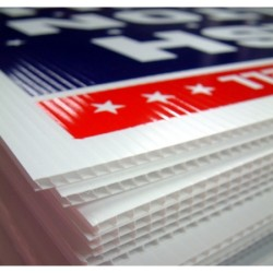 Coroplast Yard Sign Printing