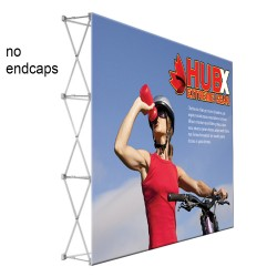 """10 ft. RPL Fabric Pop Up Display - 89""""h Straight Graphic Package"""