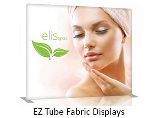 EZ Tube Fabric Displays