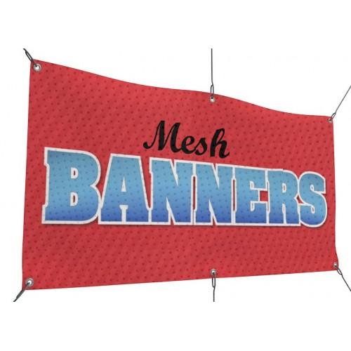 Mesh Banner Printing San Diego