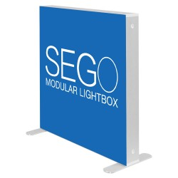 SEGO 3.3 x 3.3ft. Lightbox Double-Sided (Graphic Package)