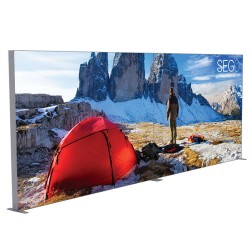 SEGO 20ft x 10ft. Lightbox Modular Display Double Sided