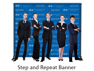Step and Repeat Banner Stand